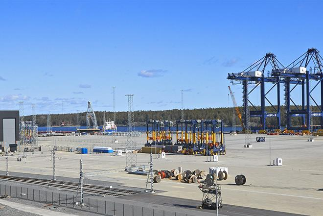 Overwiew image of Stockholm Norvik Port